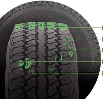 Destination A/T tires