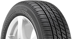 top half of driveguard tire