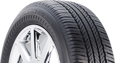 top half of Turanza tire